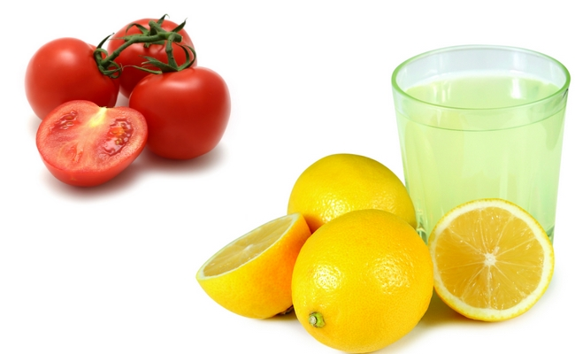 Tomato Lemon Juice Mix