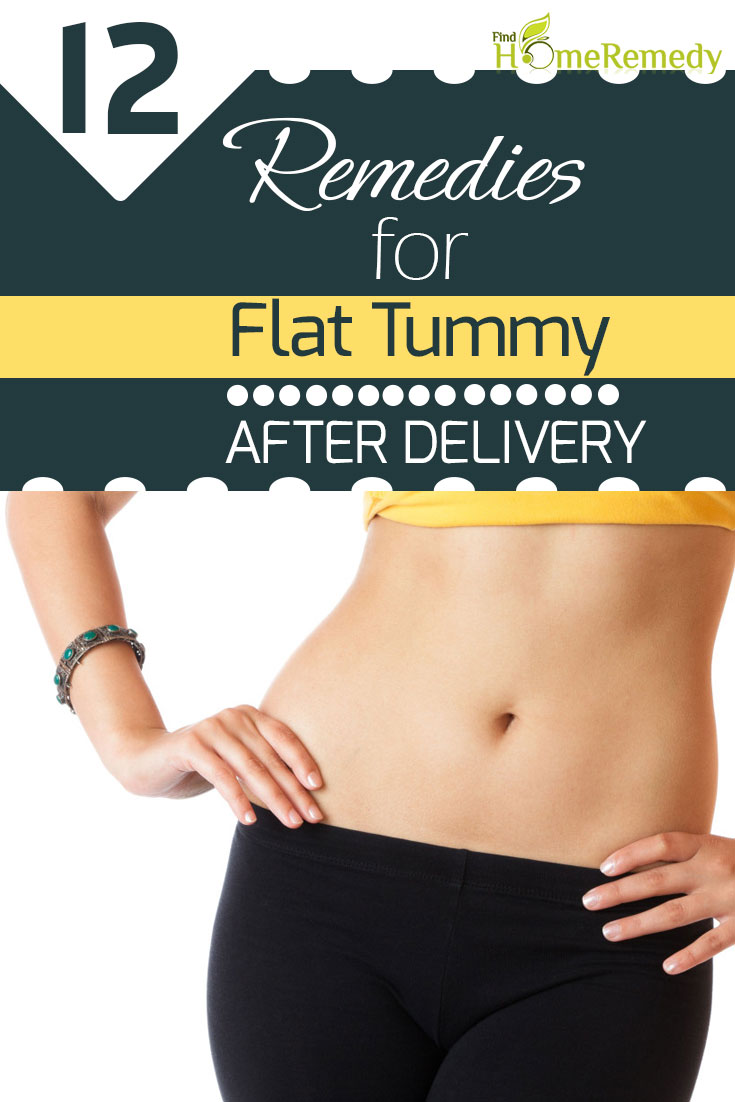Home Remedies For Getting Flat Tummy After Delivery