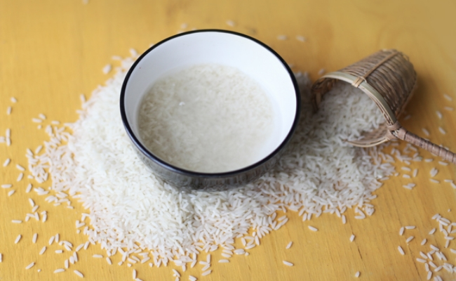 Rice Water Home Remedy