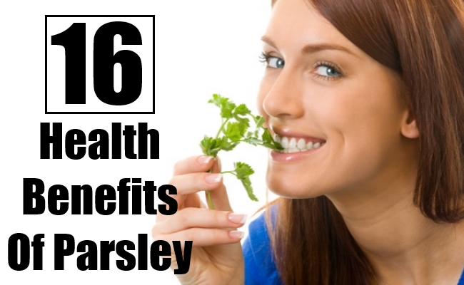 Health Benefits Of Parsley