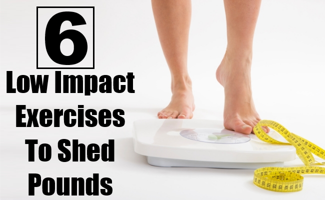 Low Impact Exercises To Shed Pounds