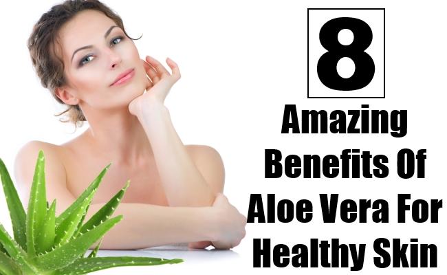 Aloe Vera For Healthy Skin