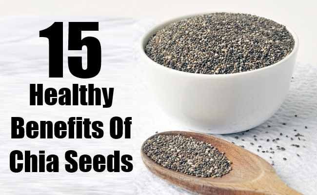 Healthy Benefits Of Chia Seeds