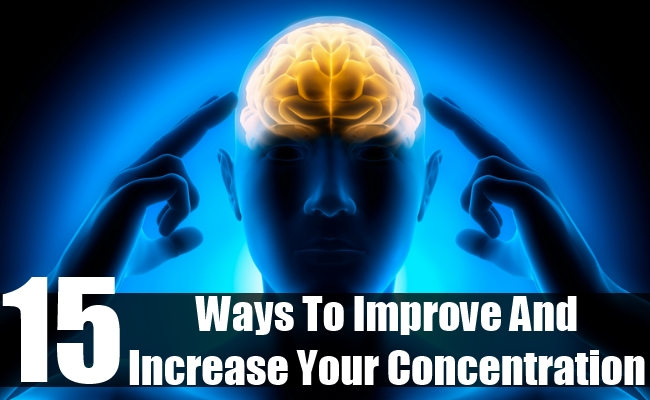 Improve And Increase Your Concentration