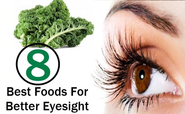 8 Best Foods For Better Eyesight