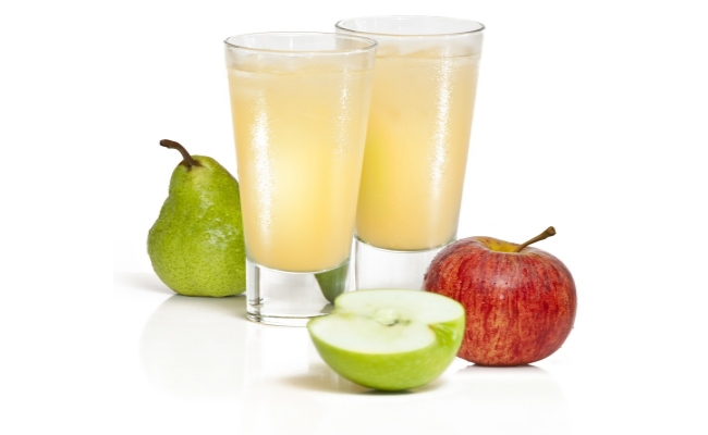Drink Pear And Apple Juice