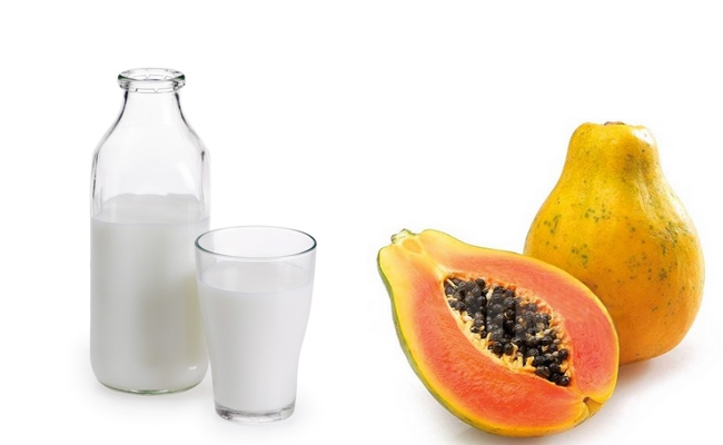 Papaya and Milk