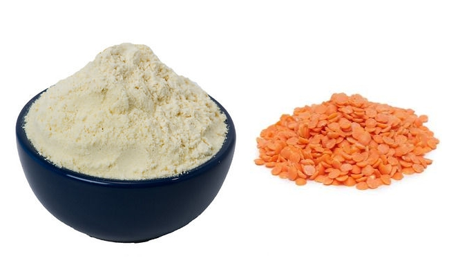 Red Lentil and Gram Flour