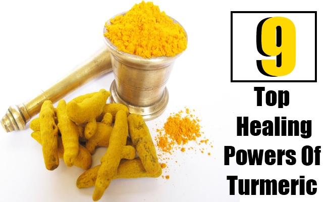 Top 9 Healing Powers Of Turmeric