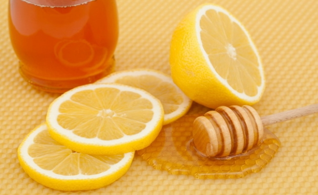 Lemon Juice with Honey