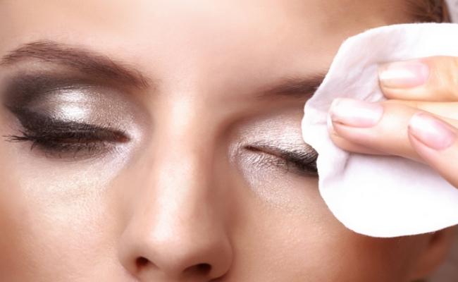 Remove all makeup at night