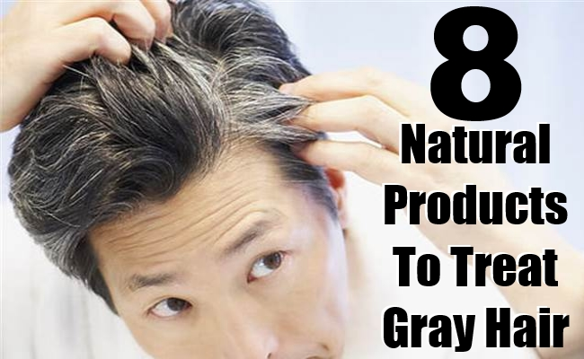 Natural Products To Treat Gray Hair