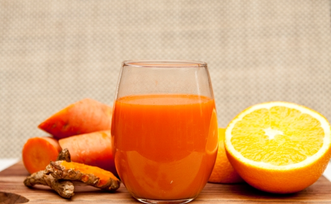 Turmeric And Orange Juice