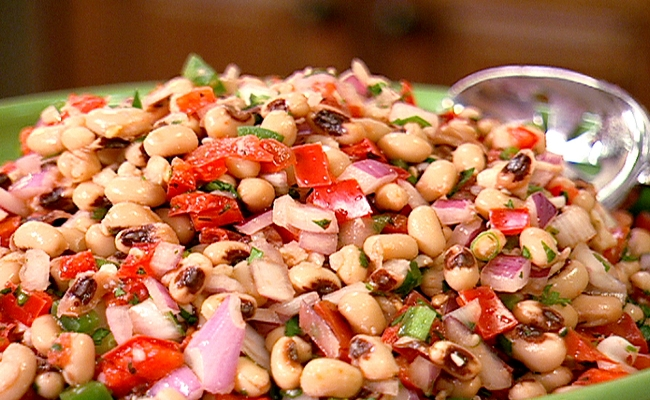 Black-Eyed Beans Salad