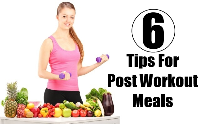 Tips For Post Workout Meals