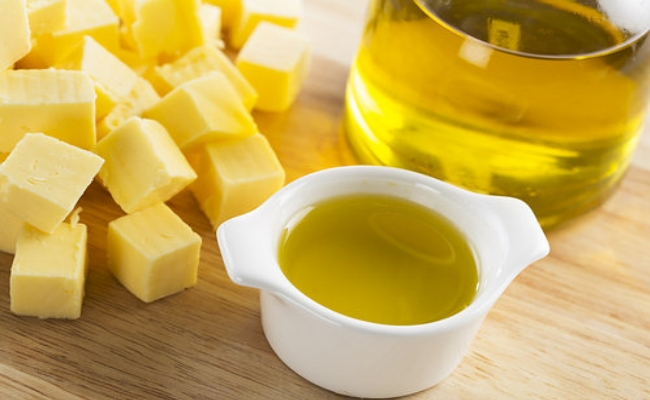 butter with olive oil