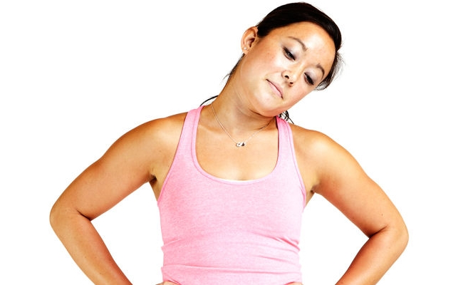 Do Neck Rolling Exercise