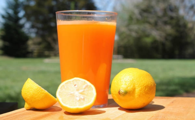 Lemon Juice and Orange Juice