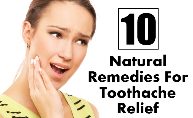 Natural Remedies For Toothache Relief