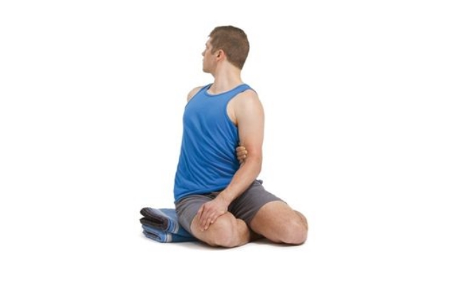 Pose of Sage Bharadvaja