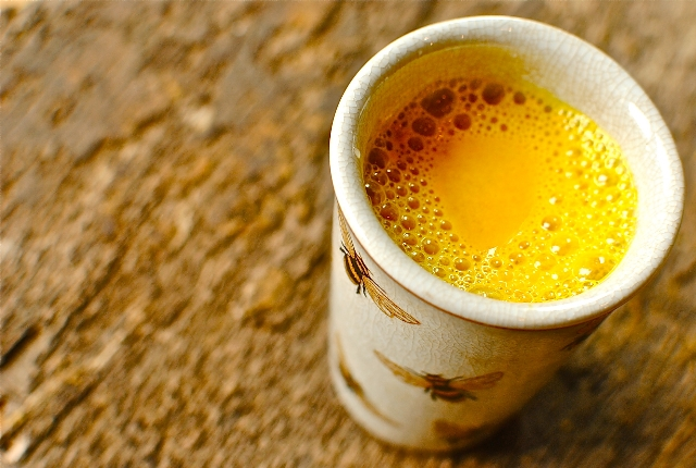 Warm Milk And Turmeric