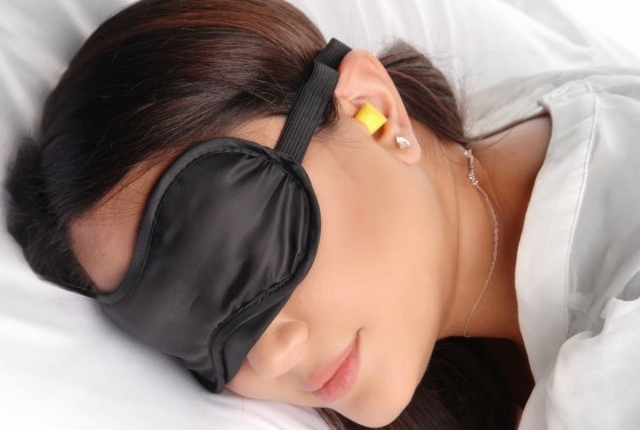 Use Earplugs And Blindfolds