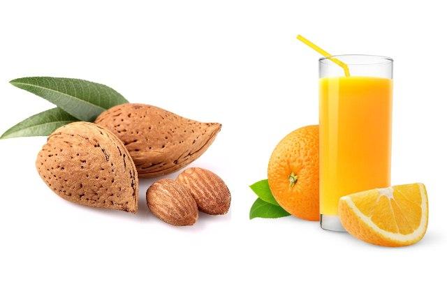 Almond And Orange Juice