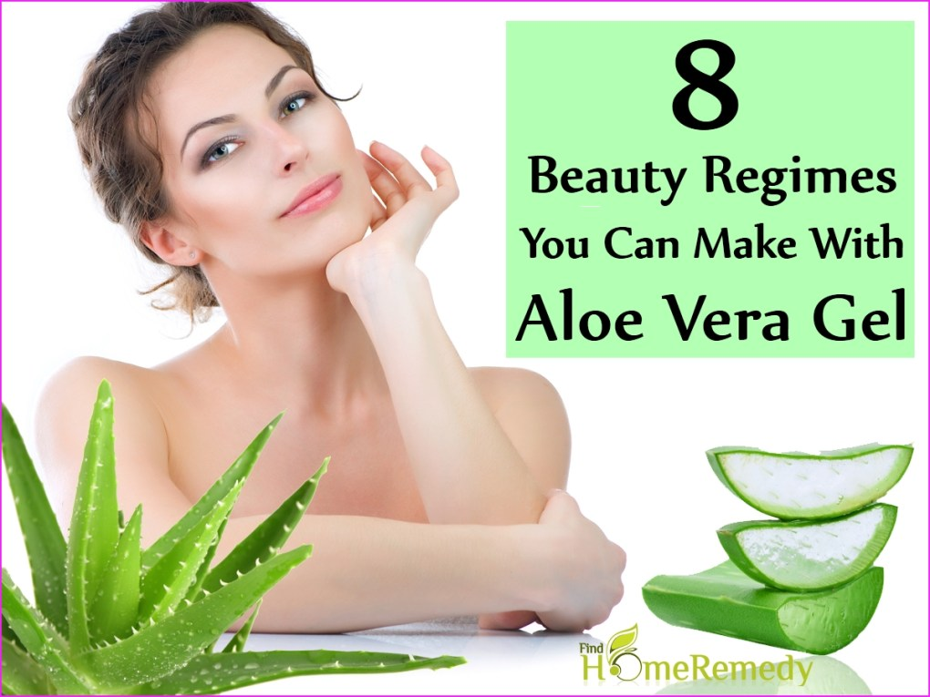 Beauty Regimes You Can Make With Aloe Vera Gel