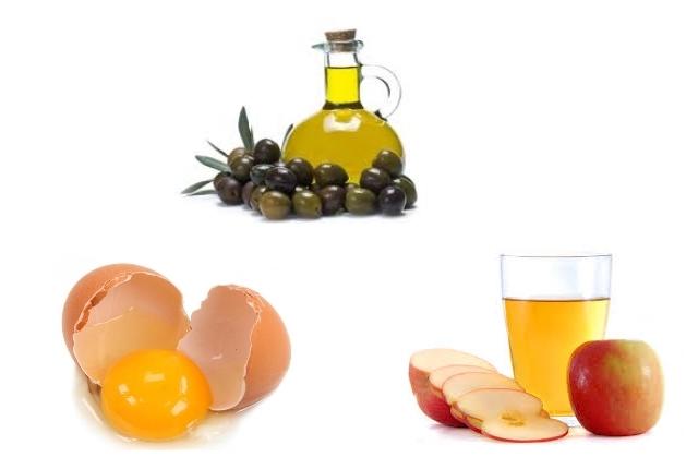 Egg, Olive Oil, And Vinegar