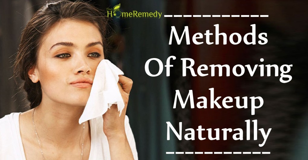 Methods Of Removing Makeup Naturally