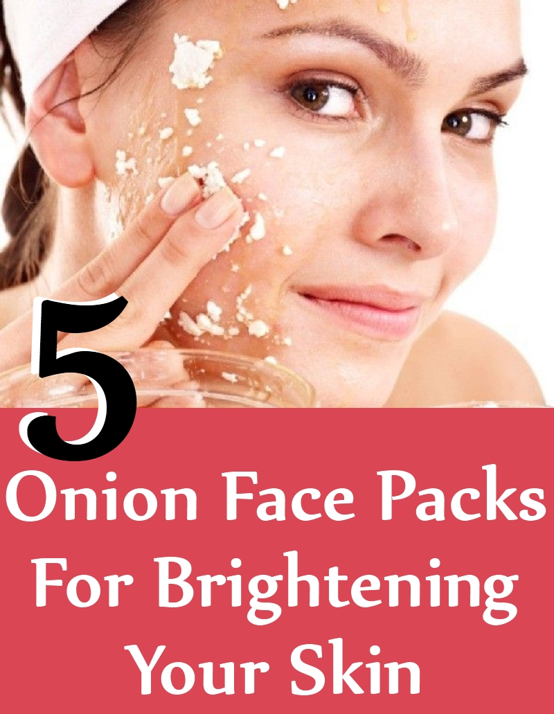 Onion Face Packs For Brightening Your Skin