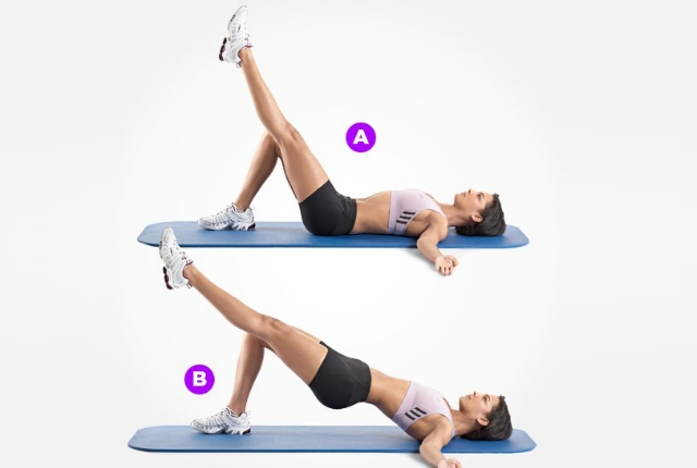 Sleeping Hip Raises