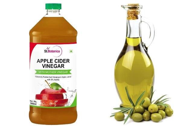 Apple Cider Vinegar And Olive Oil Detangling Spray