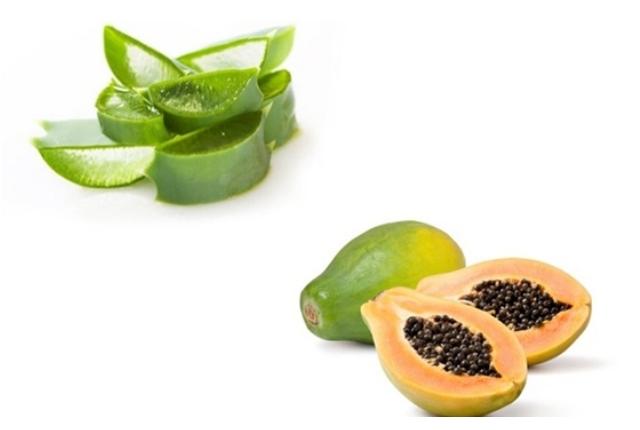 Papaya And Aloe Vera Gel