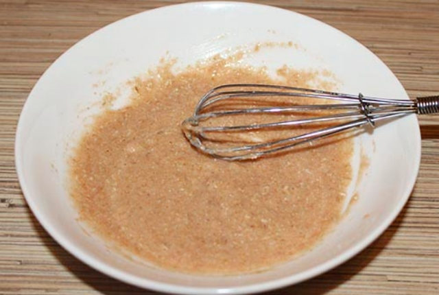 Distilled Water With Tomato And Oatmeal