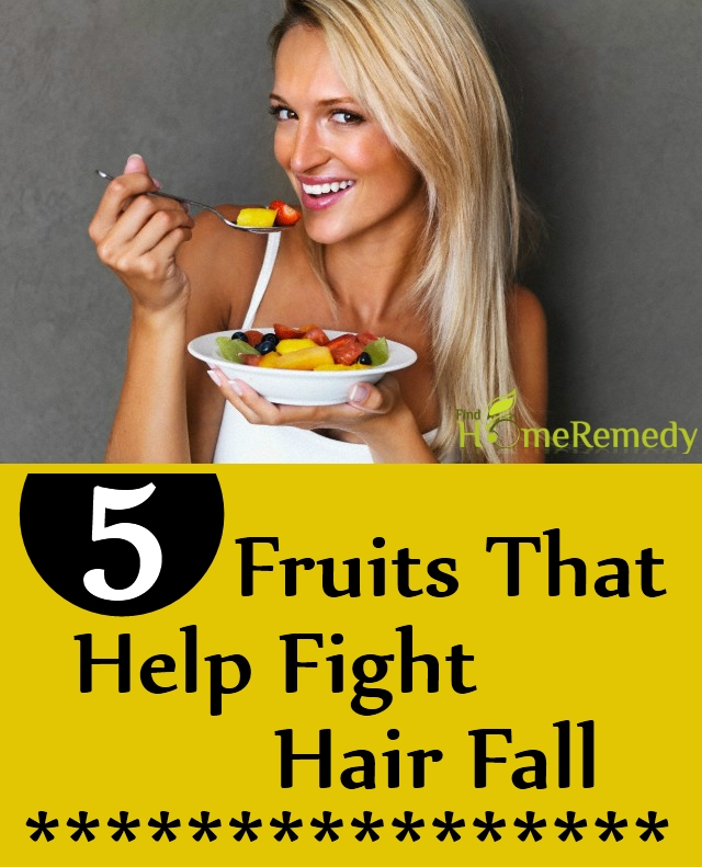 Fruits That Help Fight Hair Fall