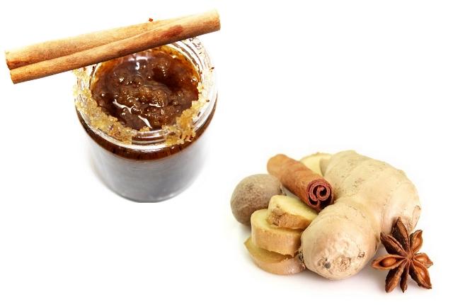 Ginger Nutmeg Lip Scrub