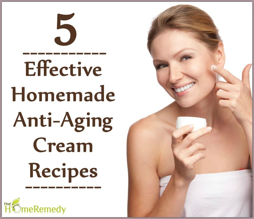 5 Effective Homemade Anti-Aging Cream Recipes