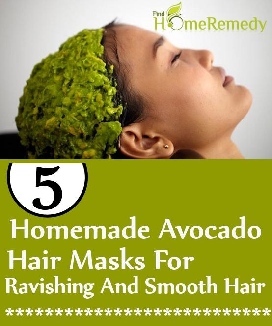 Homemade Avocado Hair Masks For Ravishing and Smooth Hair