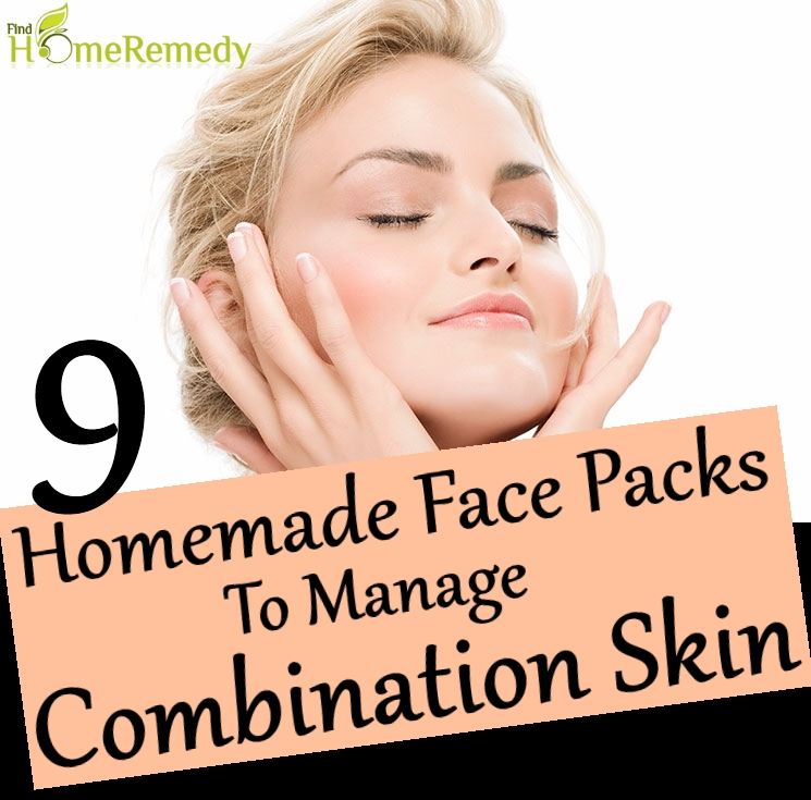 Homemade Face Packs To Manage Combination Skin