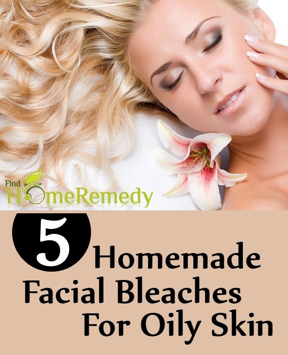 5 Homemade Facial Bleaches For Oily Skin