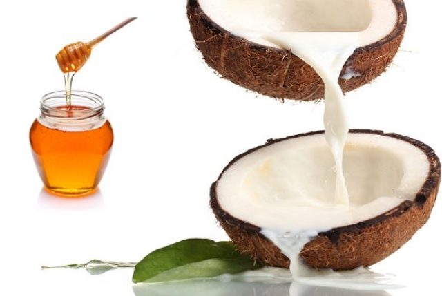 Honey And Coconut Milk