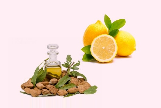 Lemon Juice And Almond Oil Mask
