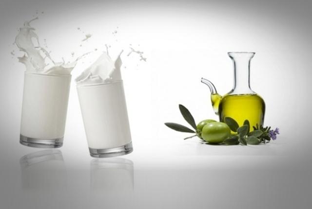 Milk Olive Oil
