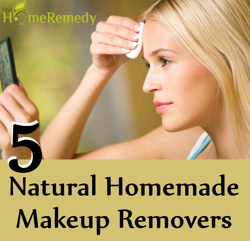 5 Natural Homemade Makeup Removers