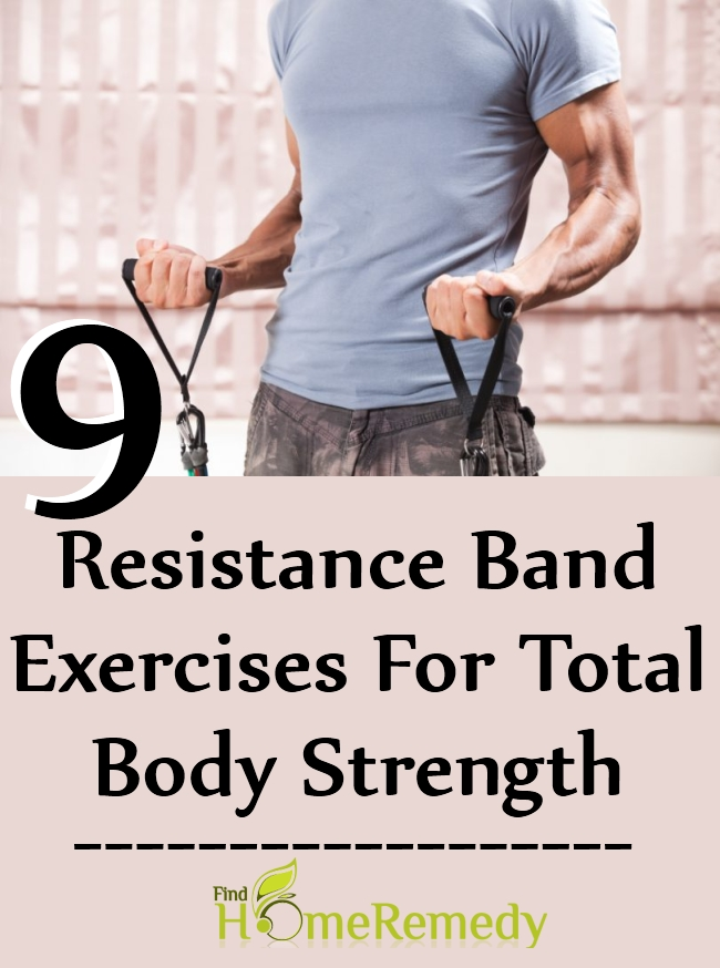 Resistance Band Exercises For Total Body Strength