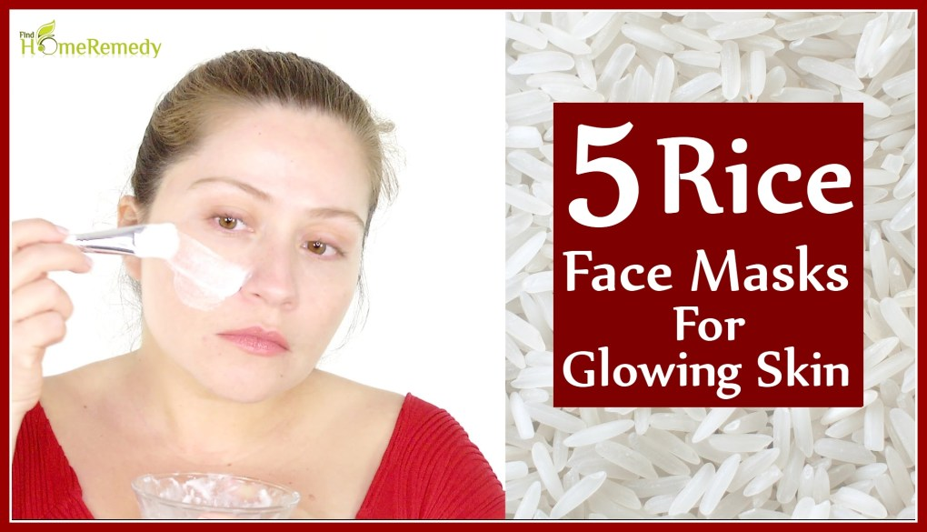 5 Rice Face Masks For Glowing Skin