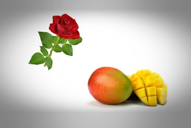 Rosewater And Mango Pulp