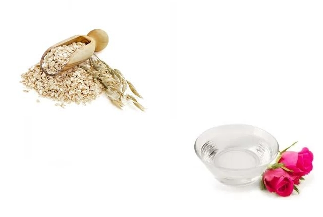 Rosewater And Oatmeal