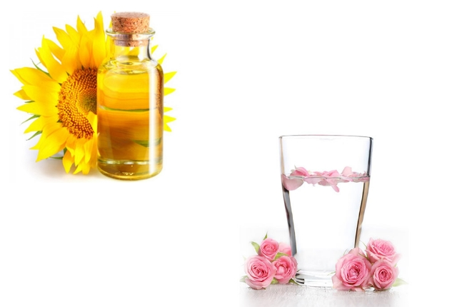 Rosewater And Vitamin E Oil